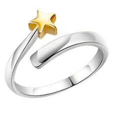 Fashion Couple Star Rings Charm Opening Adjustable Rings Jewelry For Women Men