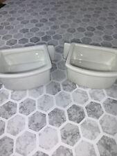 Prevue 1260 Bird Food/Water Dish Winged Ceramic