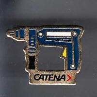 RARE PINS PIN'S .. AGRICULTURE OUTIL TOOL BTP BRICOLAGE PERCEUSE CATENA ~BC