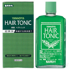 Yanagiya Japan Hair Tonic for Men (360ml/12 fl.oz.) prevent loss promote growth