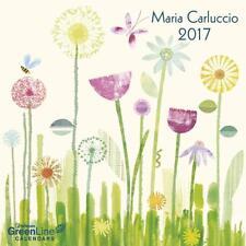 CALENDRIER 2017 - MARIA CARLUCCIO - 30 x 30 cm