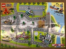Lego City The Daily Mirror Road Map Wall Posters From 2009 - Excellent B
