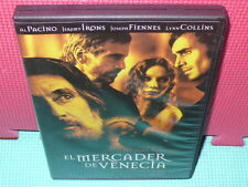 EL MERCADER DE VENECIA - SHAKESPEARE - PACINO - IRONS - dvd