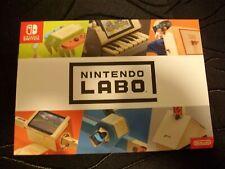 Nintendo Labo Werbebroschüre | Flyer | Switch | NSW