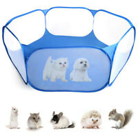 Pet Playpen Small Animal Cage Tent Exercise Fence Hamster Guinea Pig Rabbit Fold