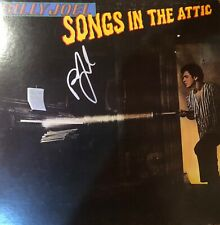 Billy Joel Songs In The Attic Signed Autographed Album Cover JSA Piano Man RARE