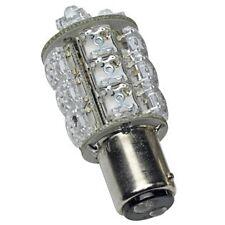 Ba15d 20 Led Blanco 12v Doble Contacto interior Bombilla sf20di-12-w