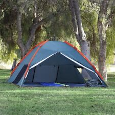 Qwest 4-6 person Pop Up Instant Tent 10'X10'X5' Camping Shelter Green