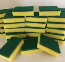 Lot of 40pcs Kitchen Sponges Scrubber Scrub Scourer for Washing Cleaning Dishes