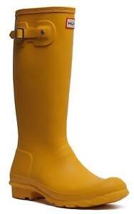Hunter Boots Original Kids Rubber Wellies Wellys Size UK 1 - 5