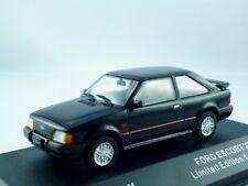 Ford Escort XR3i    1986-1990  schwarz     /  Triple 9 Premium   1:43