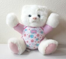 2012 FurReal Friends Lovey Cubbies POLAR BEAR Baby Interactive Plush 12""