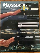 1995 Mossberg Shooting Systems Catalog