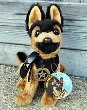 German Shepherd Plush Police Dog with K9 Badge & Cool Shades -  K9 Fundraiser