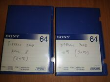 Pirelli Calendar 2008 Raw Footage on Sony DVCAM tapes