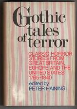 Gothic Tales of Terror by Peter Haining (editor) First Edition- High Grade