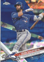 JOSE BAUTISTA 2017 TOPPS CHROME SAPPHIRE EDITION #60 ONLY 250 MADE