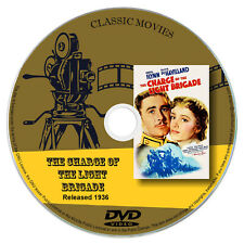 The Charge Of The Light Brigade (1936) - Errol Flynn - Action, Adventure DVD