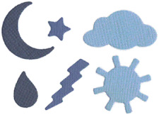 QUICKUTZ  WEATHER SHAPES COOKIE CUTTER DIES CC-SHAPE-06