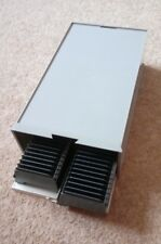 2 x Slide Projector Cassette Trays 36 Slides each with Storage Box #