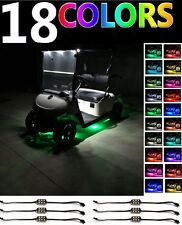 Golf Cart LED Body Glow Neon Accent Lights Pod Kit For EZGO CLUB CAR And YAMAHA