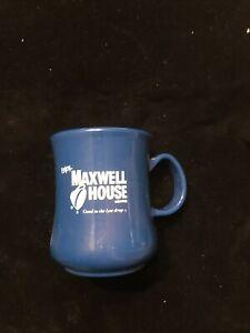 Vintage Advertising Maxwell House Plastic Coffee Mug Cup Dawn Plastic