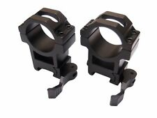"""PAO® KwikLOKtm  Quick Release/Attach Weaver Mounts for 25mm (1"""") Bodied Scopes"""