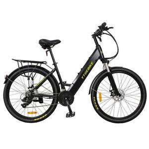 "27.5"" Electric Bicycles City Leisure E-bike 2020 Model Year 36V 350W Black"