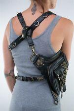 Leather Medieval Renaissance Vintage Bag Gothic Belt Viking Pirate Cosplay