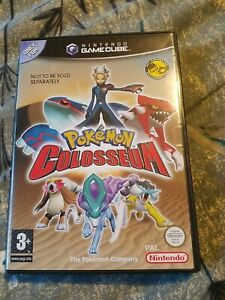 Pokemon Colosseum Gamecube With Memory Card, Box And Manual!