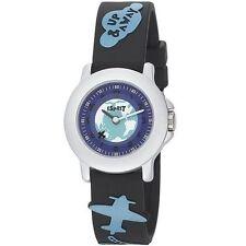 SALE ESPRIT Kinderuhr Up&Away Uhr Kunststoff Black Kompass Jungenuhr ES103454007