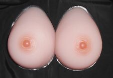 Size 7 Silicone Teardrop Breast Forms/Mastectomy Bra Inserts-Model 7TR