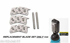 REPLACEMEN​T BLADE SET for MASTER GROOMING TOOLS MATBREAKER MAT Breaker 6 Blade