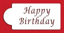 Happy Birthday Stencil by Designer Stencils #C013