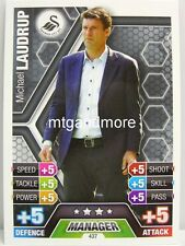 Match Attax 2013/14 Premier League - #437 Michael Laudrup - West Bromwich