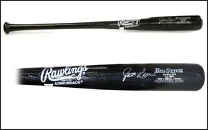 Jim Rice Boston Red Sox Signed Rawlings Baseball Bat with stats engraved on bat