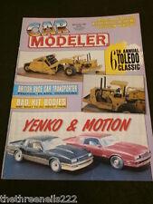 CAR MODELER - BRITISH RACE CAR TRANSPORTER - SEPT 1991