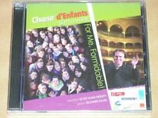CD / CHOEUR D'ENFANTS / FOR ME FORMIDABLE / SCOTT ALAN PROUTY / NEUF CELLO