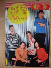 POSTER  *Take That / Edyta Górniak* 55 cm x 80 cm*Very Rare Superposter!*
