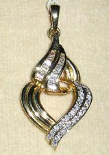 SOLID      14K  Gold     DIAMOND    Pendant