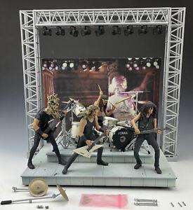 2001 McFarlane Toys Metallica Band Harvester of Sorrow Stage Set Used Metal Nice