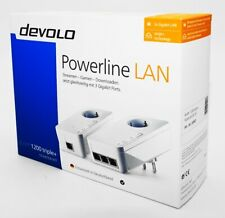 Devolo dLAN 1200 triple+ LAN Starter Kit - Powerline - 2er Set - weiß - Neu