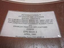 International  DT-414 DT-466 Series B Diesel Engines Parts Manual