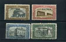 ERITREA- semi postal ovptd. Italian Monuments 1927