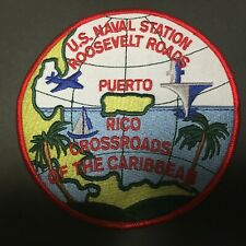 Us Naval Station Roosevelt Roads, Puerto Rico Measures 4 3/8 Inches