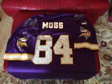 Vintage Randy Moss Anniversary Patch Jersey  Puma Minnesota Vikings