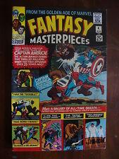 Fantasy Masterpieces #4 F/Vf Captain America