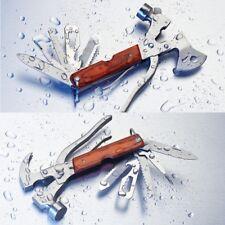 Multitool Multifunktions-Werkzeug mit 12 Funktionen Nothammer Beil Axt Hammer