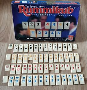 RUMMIKUB Spares Jokers, Numbers 1 -13 Blanks Spare Tiles Single Pieces Multibuy