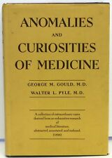 GOULD and PYLE Anomalies and Curiosities of Medicine 1956 Hardcover in Jacket